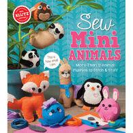 Klutz Sew Mini Animals Craft Kit by Klutz