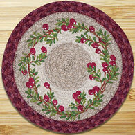Capitol Earth Cranberries Printed Swatch Rug