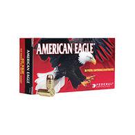 American Eagle 9mm Luger (9x19mm Parabellum) 147 Grain FMJ Flat Point Handgun Ammo (50)
