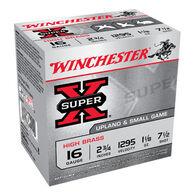 "Winchester Super-X High Brass 16 GA 2-3/4"" 1-1/8 oz. #7-1/2 Shotshell Ammo (25)"