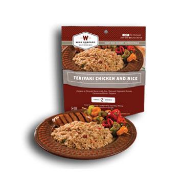 Wise Teriyaki Chicken & Rice Meal - 2 Servings