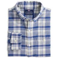 Vineyard Vines Men's Slim Fit Tamarind Longshore Button Down Long-Sleeve Shirt