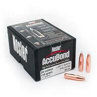 "Nosler AccuBond 25 Cal. 110 Grain .257"" BT Spitzer Point Rifle Bullet (50)"