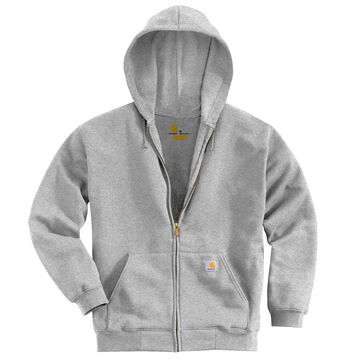 Carhartt Mens Midweight Hooded Full-Zip Front Sweatshirt