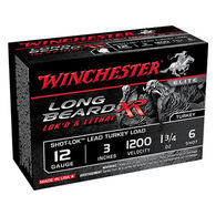 "Winchester Long Beard XR 12 GA 3"" 1-3/4 oz. #6 Shotshell Ammo (10)"
