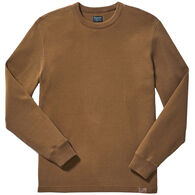 Filson Men's Waffle Knit Thermal Crew Neck Long-Sleeve Shirt