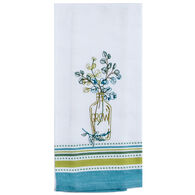 Kay Dee Designs Greenery Grow Embroidered Tea Towel