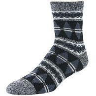 Sof Sole Men's Fireside Tribal Stripes Crew Sock