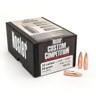 "Nosler Custom Competition 22 Cal. 69 Grain .224"" HPBT Rifle Bullet (100)"