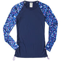 Tyr Sport Women's Belize Santa Cruz Long-Sleeve Rashguard