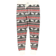 Lazy One Women's Moose Fair Isle Pajama Legging