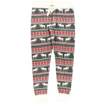 Lazy One Women's Moose Fair Isle Pajama Legging