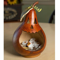 Meadowbrooke Gourds Jack-O-Lantern Small Candy Dish
