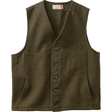 Filson Mens Mackinaw Extra Long Wool Vest