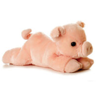 "Aurora Percy Pig 8"" Plush Stuffed Animal"