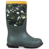 Bogs Boys' & Girls' Farm Waterproof Insulated Boot