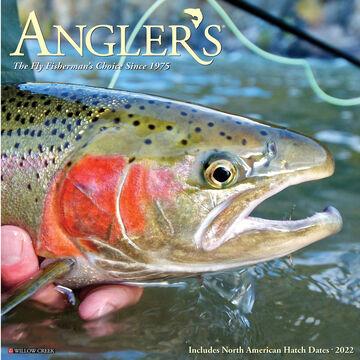 Willow Creek Press Anglers 2022 Wall Calendar