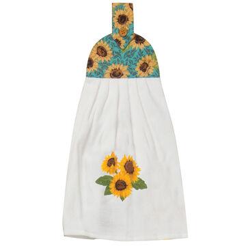 Kay Dee Designs Sunflower Fields Tie Towel