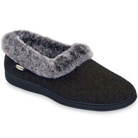 Acorn Women's Chinchilla Collar Slipper