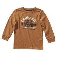 Carhartt Boy's Farm & Ranch Long-Sleeve Shirt