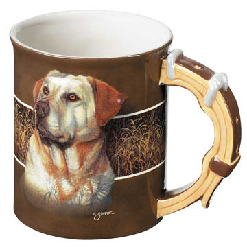Wild Wings Yellow Lab Mug