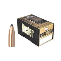 "Nosler Partition 35 Cal. 225 Grain .358"" Spitzer Point Rifle Bullet (50)"
