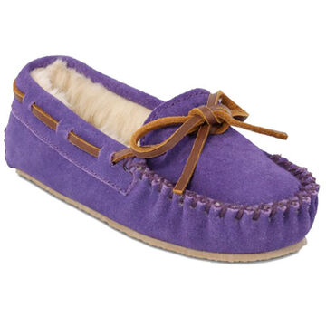 Minnetonka Girls Cassie Lined Moccasin