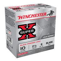 "Winchester Super-X 10 GA 2-7/8"" Black Powder Blank Ammo (25)"