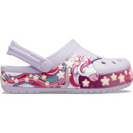 Crocs Girls' Fun Lab Unicorn Band Clog