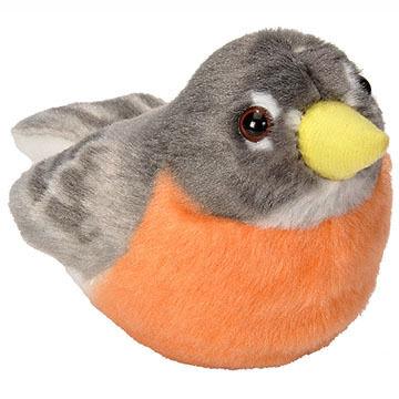 Wild Republic Audubon Stuffed Animal - American Robin