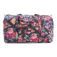 Vera Bradley Signature Cotton Iconic Large 49 Liter Travel Duffel Bag