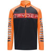 Spyder Active Sports Boy's Limitless Peak Half-Zip Long-Sleeve Pullover