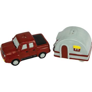 Rivers Edge Truck & Camper Salt & Pepper Shaker Set, 2-Piece
