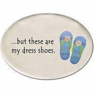 August Ceramic Dress Shoes Magnet