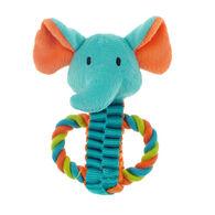 Chomper Mini Safari Tug Pals Elephant Dog Toy