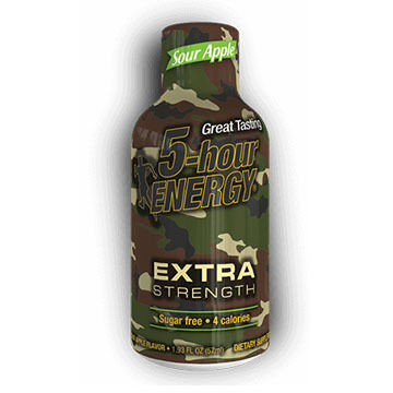 5-hour Energy Sour Energy Extra Strength Energy Shot
