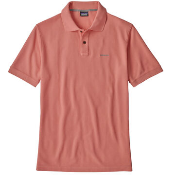 Patagonia Mens Belwe Pique Polo Short-Sleeve Shirt