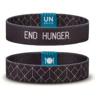 Unselfie Women's End Hunger Geometric Pattern Wrist Band