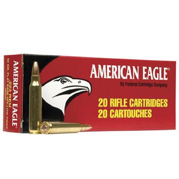 American Eagle 30-06 Springfield (7.62x63mm) 150 Grain FMJ Rifle Ammo (20)