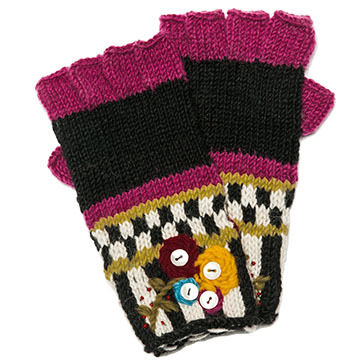Icelandic Design Womens Daya Fingerless Glove