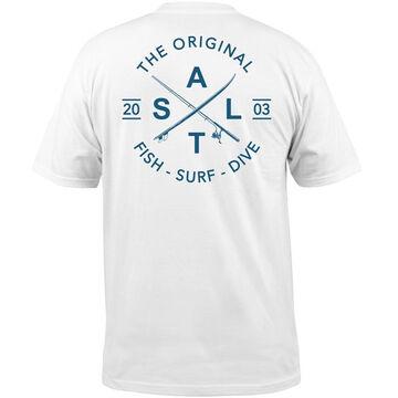 Salt Life Mens Original Salt Pocket Short-Sleeve T-Shirt