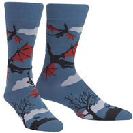 Sock It To Me Men's Twilight Flight Crew Sock