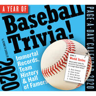 A Year of Baseball Trivia! 2020 Page-A-Day Calendar by Kenneth Shouler