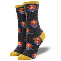 Socksmith Design Women's Soup Er Supportive Crew Sock