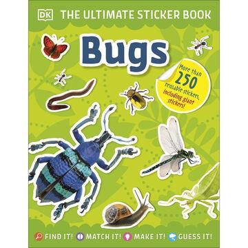 DK Ultimate Sticker Book: Bugs by DK