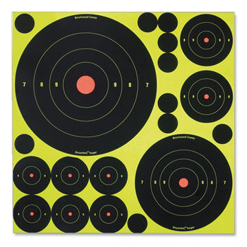 Birchwood Casey Shoot-N-C Bulls-Eye Target Variety Pack