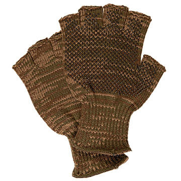 Broner Mens 1/2 Finger Quick Release Knit Hunting Glove