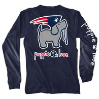 Puppie Love Women's Mascot Pup Long-Sleeve T-Shirt