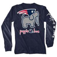 Puppie Love Women's Mascot Pup Long-Sleeve T-Shirt