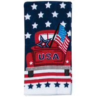 Kay Dee Designs USA Truck Fiber Reactive Terry Towel